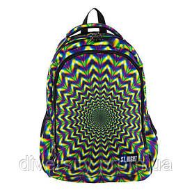 """Підлітковий шкільний рюкзак BP-57 """"HIPNOSIS"""" ST.RIGHT 626432"""