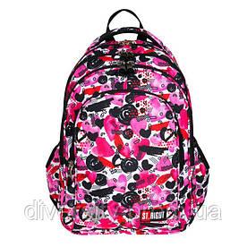 """Підлітковий шкільний рюкзакBP-58 """"HEARTS"""" ST.RIGHT 626005"""