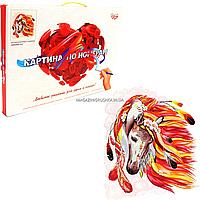 Картина за номерами Danko toys Вогненного коня, 40х50 см (KPN-01-07)
