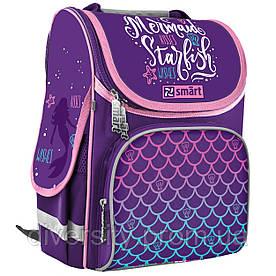 """Шкільний рюкзак,каркасний PG-11 """"Mermaid"""" серія """"Smart"""" 558066"""