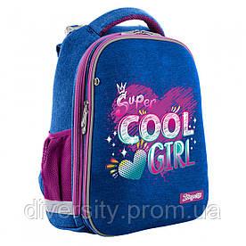 """Рюкзак шкільний, каркасний H-12 """"Cool girl"""" 558024"""