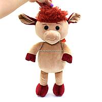 Мягкая игрушка Копиця «Бычок Павлуша» Коричневый 35*16*10 см (00297-16)
