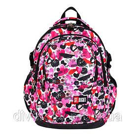 """Підлітковий шкільний рюкзак BP-01 """"HEART"""" ST.RIGHT 625992"""