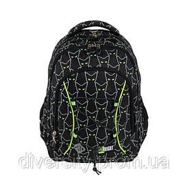 """Підлітковий шкільний рюкзак BP-32 """"REFLECTIVE CATS"""" ST.RIGHT 625541"""