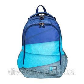 """Підлітковий шкільний рюкзак BP-57 """"MELANGE STRIPES"""" ST.RIGHT 626982"""