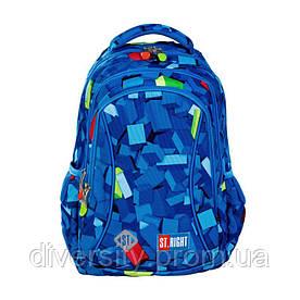 """Підлітковий шкільний рюкзак BP-26 """"PASTEL LAMAS"""" ST.RIGHT 627200"""