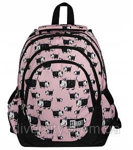 """Підлітковий шкільний рюкзак BP-06 """"Dogs""""  ST.RIGHT 590007"""