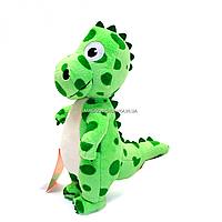 Мягкая игрушка динозавр Копиця «Дино 1» Зеленый 30*12*20 см, (00688-7)