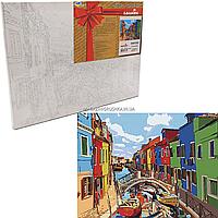 Картина за номерами Ідейка «Барви міста», 40x50 см КНО3502