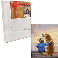 Картина за номерами Ідейка «На рибалці», 40x50 см (КНО2341)
