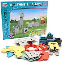 Магнитный конструктор «Цветные магниты» 60 деталей (2469)