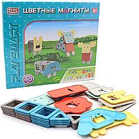 Магнитный конструктор «Цветные магниты» 40 деталей (2468)