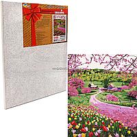 Картина за номерами весняне різнобарв'я, 50x40 (КНО2254)