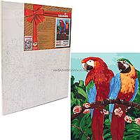 Картина за номерами Ідейка «Королівські папуги» 40x50 см (КНО4051)