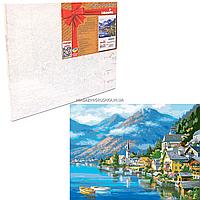Картина за номерами Ідейка «Австрійський пейзаж» 40x50 см (КНО2143)