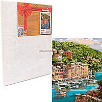 Картина за номерами Ідейка «Мальовнича бухта» 40x50 см (КНО2273)