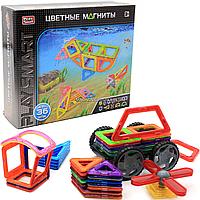 Магнитный конструктор Play Smart «Цветные магниты» 36 деталей (2466)