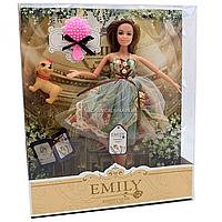 Лялька Emily 30 см з вихованцем і аксесуарами (QJ078B)