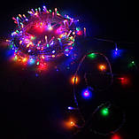 Гирлянда светодиодная led 200 мультиколор, фото 2