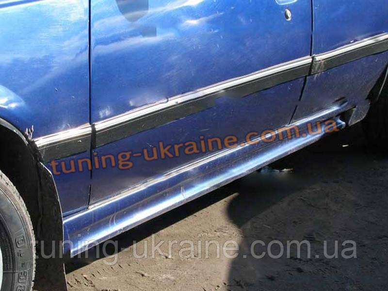 Пороги универсальные №1 Ford Focus sedan 2011-2014