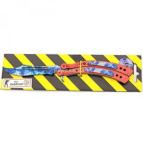 """Дерев'яний ніж іграшка """"Метелик"""" (Кристал) з Counter-Strike (арт.BAL-C)"""