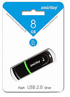 USB Flash - накопитель Smartbuy 8GB Paean Black