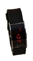 Часы наручные 0927 LED вертикальные, женские