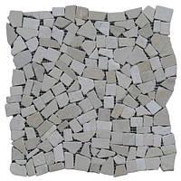 Мраморная Мозаика Стар.-Валт. МКР-ХС (хаотичная) 6 мм Mix Beige 23х15 СВ