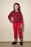 Костюм брючный нарядный для девочки, размеры 30, 32, 34, 36. (арт.Б113+В59)