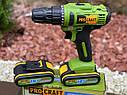 Шурукрут акумуляторний Procraft PA18C 18 вольт, фото 6