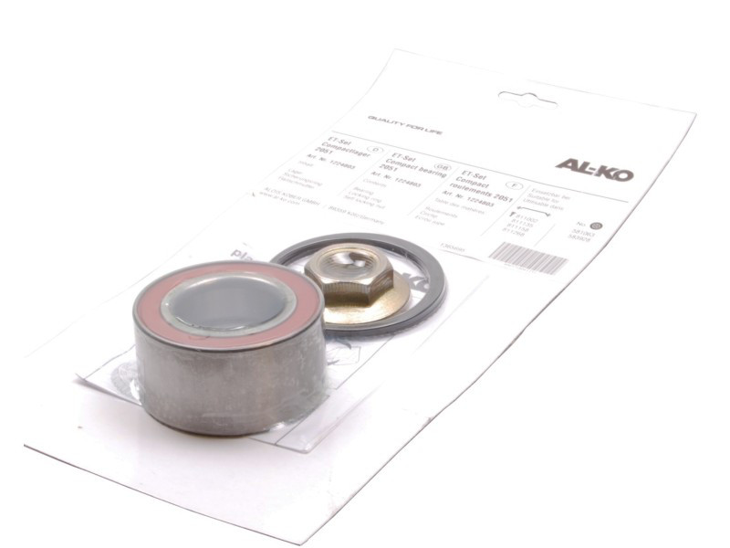 Кульковий підшипник для осей до 1500 кг (комплект) (1224803)