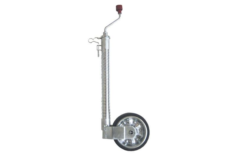Опорное колесо Plus с защитой от проскальзывания, нагрузка 300 кг, стальной диск (1223614)