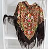 Платок коричневый в народном стиле (611008), фото 4