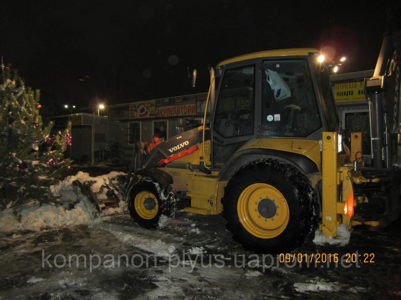 Роботи по прибиранню снігу