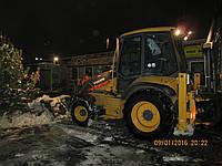 Работы по уборке снега