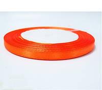 Лента (атлас) 1см оранжевая