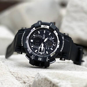Наручний годинник Casio G-Shock GW-A1100 Black-White