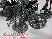 """Термодюбель """"Зонтик"""" 10*80 пластиковый для крепления термоизоляционных материалов"""