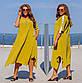Батальное платье с лентами 700  в разных расцветках, фото 4