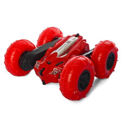 Машина LH-CO18 радіокер.2,4 G,акум.,трюкова,колеса надувши.,насос,USB,2кольори,світло,кор.,39-25-9см.