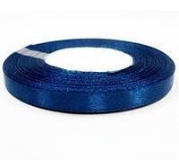 Лента (атлас) 1 см цвет синий