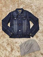 Джинсовые куртки для девочек оптом, Grace, 134-164 рр., фото 2