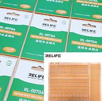Пятаки, набор пятаков для ремонта материнских плат Relife RL-007GA Repair Spot
