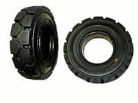 28 x 12.5 x 15 Цельнолитая шина с замком для вилочныx погрузчиков  - ADDO