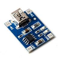 Зарядное устройство TP4056 18650 DIY miniUSB