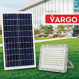 LED прожектор на сонячній батареї 100W, Vargo (VS-877), фото 2