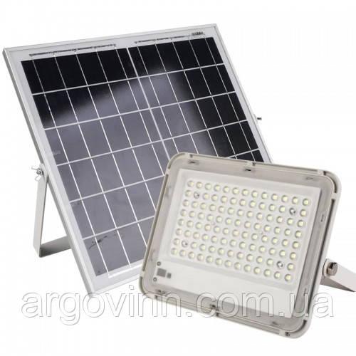 LED прожектор на сонячній батареї 100W, Vargo (VS-877)
