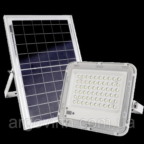 LED прожектор на сонячній батареї 40W, Vargo (VS-875)
