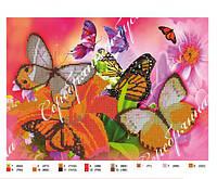 Схемы для бисера бабочки, схема под бисер А3