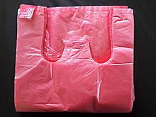 Пакет майка 24/42 180 шт. червона